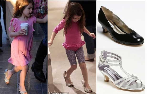 Zapatos De Tacon Para Niña De 6 Años