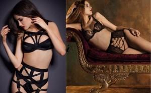 Algunos ya han apodado esta tendencia 'fetish' y como no podría ser de otra manera, también hay colecciones de lencería inspiradas en ella, como es el caso de la colección de Agent Provocateur.