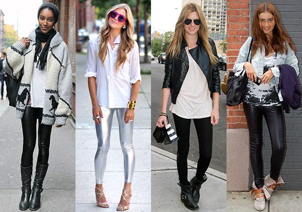 La regla fundamental para lucir tus leggings manda usarlos con una camiseta o sweater que te tape al menos la mitad de los glúteos.