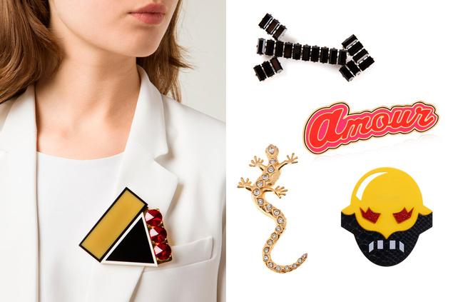 Las tiendas online ofrecen varias opciones para apuntarse a la tendencia. En la foto las opciones de Marni, Carven, Maria Francesca Pepe, Laeux Vintage y Stella McCartney.